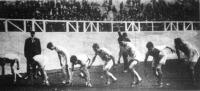 A versenyfutás startja a londoni olympiászon