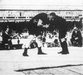 Weisz Richárd (Magyarország) a görög-római nehéz súlycsoportban legyőzi az orosz Petroffot