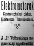 Reklám 1911