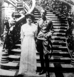 Ilona szerb hercegnő és férje, Konstantinovics János orosz herceg