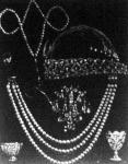 II. Abdul Hamid török exszultán több millió korona értékű gyöngy- és drágaköves ékszerei, amelyeket most árvereztek el Párizsban
