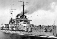 A németek 1908-ban építették meg a Rheinland csatahajót