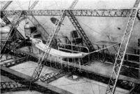 Német léghajó építése
