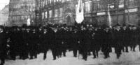 Szocialisták felvonulása Budapesten