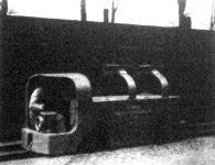 Érdekes bányavasuti villamos lokomotiv