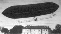 Az első osztrák kormányozható léghajó