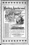 Hajózási hirdetés az 1900-as Kincses Kalendáriumban