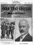 Fent: a lap fejléce; lent balra: a kis-antant külügyminiszterei (Titulescu, Benes, Zifkovics); lent jobbra: Mehedinţi professzor