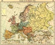Európa 1911-ben