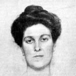 Wellmann Róbert : Női arczkép