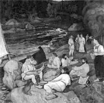 Vainamoinen dala  - Halonen festménye