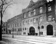 A VII kerületi külső főgimnázium új épülete