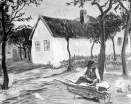 Fesztyné Jókai Róza:  Gyermekkocsi falun
