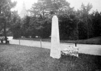 A Fuit sírkő a Városligetben