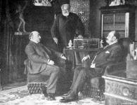 Kossuth Lajos Tódor, Thaly Kálmán és Kossuth Ferencz
