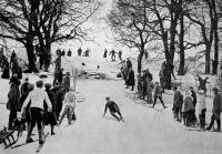 Az első síverseny a Zugligetben