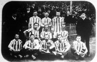 A Ferencvárosi Torna Club labdarúgó csapata, amely a világhírű Sunderland angol csapattal mérkőzött a Millenáris versenypályán