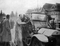 Kép a Henrik porosz herczeg autómobil túraútról.