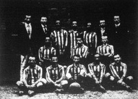 A Fővárosi Torna Club ifjúsági bajnok csapata 1908/09-ben