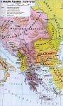 A Balkán térképe