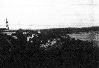 Belgrád látképe