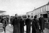 Kínai küldöttség a fiumei Danubius hajógyárban
