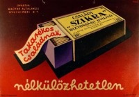 A Magyar Általános Gyufaipari Rt. plakátja