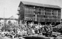 Lupényi bányamunkások