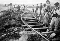 Vasúti pálya helyreállítása