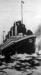 A White Star angol- belga hajóstársaság Titanic nevű óriás hajója