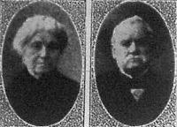1. Borhegyi József Arad város legrégibb iparos polgára és neje, a minap ünnepelték meg gyémántlakodalmukat
