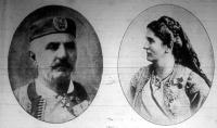 Nikita király és Milena királyné