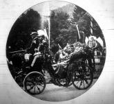 Ferencz József érkezése