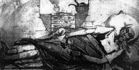 1831-ben kholerában meghalt lány