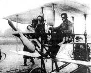 Alfred Ritter von Pischof aeroplánján