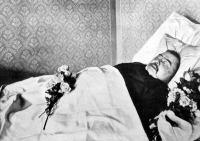 Mikszáth a halottas ágyán