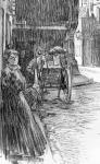 Utczasarok - Székely Andor rajza