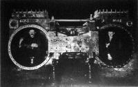 A modern vasuti közlekedés ugynevezett Mammuth tipusú gőzmozdonyának hengerkazánja