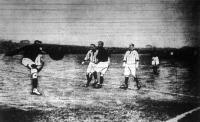 Pillanatképek: magyar-francia focimeccs I.