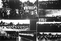 Az olimpiai kongresszus alkalmával a margitszigeti sporttelepen tartott versenyek