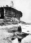 A gallipoli világító torony a Dardanellákban