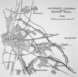 Hajózható csatorna terve Budapest körül
