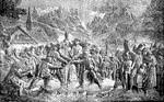 A tiroliak felkelése Hofer András vezetése alatt (dombormű, Insbruck)