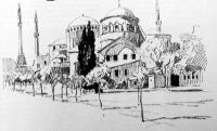 Konstantinápolyi képek: A Szt. Iréne templom (hadi múzeum)
