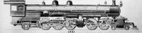 Vasuti mozdony 1910-ben