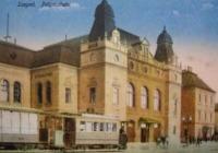 A szegedi pályaudvar 1907-ben