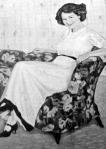 Lohwag Ernesztin: Női arczkép