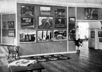 A kiállítás egyik terme