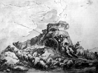 Fragonard: Közelgő vihar