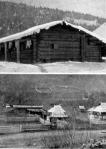 Ősi huczul ház, mely juhtanyából fejlődött